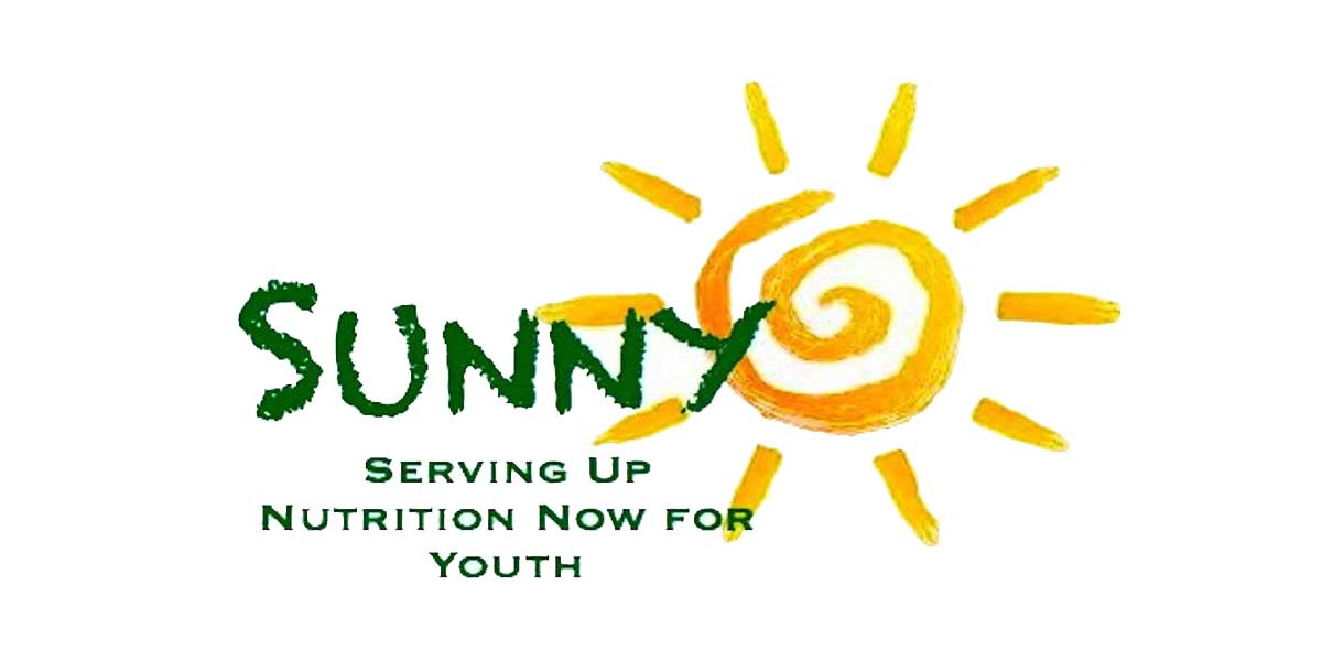 SUNNY summer lunch program Jun-Aug